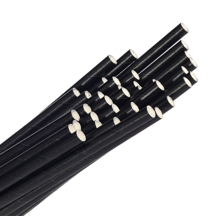 Black paper straw, bio straw, bio biodegradable straw, paper straw cambodian supplier